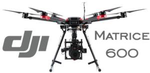 DJI Drohne mit Kamera